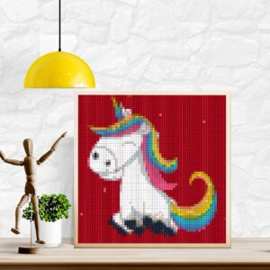 Unicorn pixel art